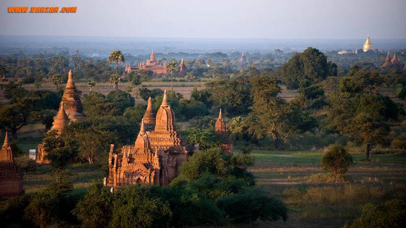 باگان که زمانی پایتخت اولین پادشاهی میانمار به شمار می رفت