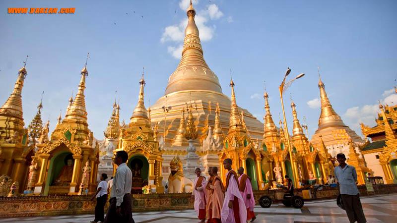 میانمار با پاگوداهای حیرت انگیز
