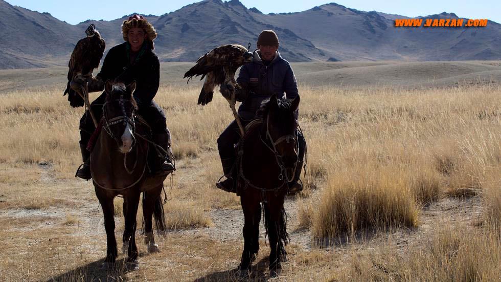 وانسون لوک با شکارچی عقاب طلایی