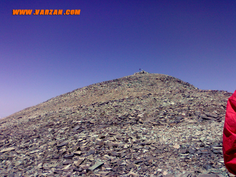 نزدیک به قله ی خلنو