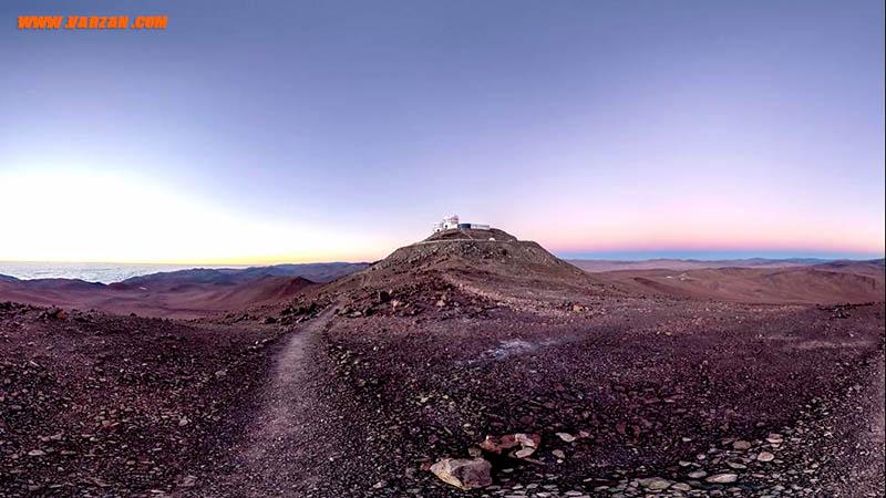 """یکی از خشک ترین روزهای ثبت شده در تاریخ مجموعه """"تلسکوپ بسیار بزرگ"""""""