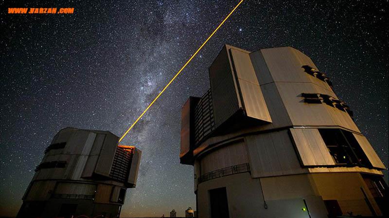 لیزر PARLA جدید در حال عملیات در رصدخانه پارانال
