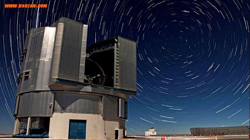 """واحدهای تلسکوپی """"تلسکوپ بسیار بزرگ"""""""