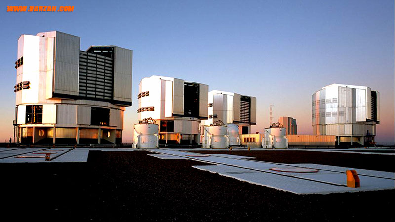 """تصویر پاناروما از """"تلسکوپ بسیار بزرگ"""""""