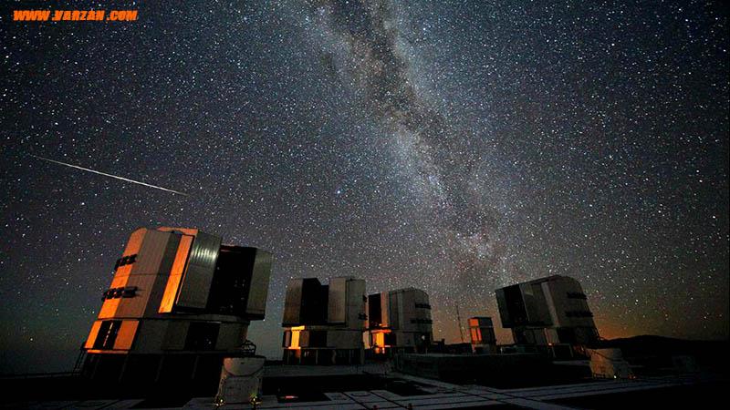 عکس گرفته شده در رصدخانه پارانال در شیلی