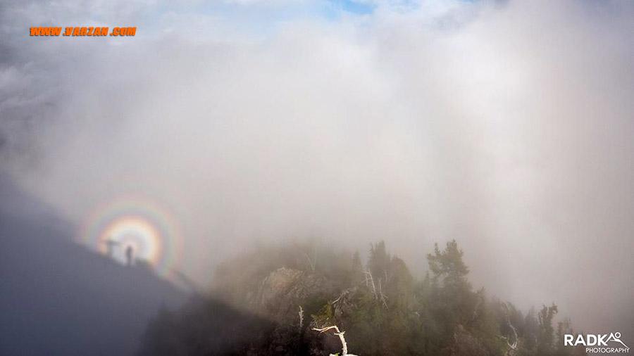 شبح بروکن در کوه تامانوس