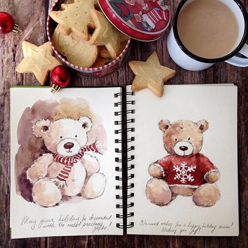 Teddy-Bears-sketch