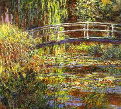 The-Water-Lily-Pond-Pink-Harmony-1900-
