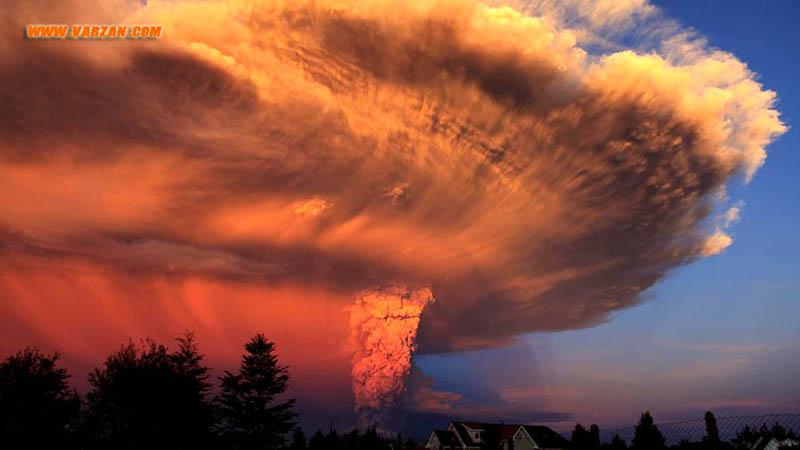 """آتشفشان """"کالبوکو"""""""