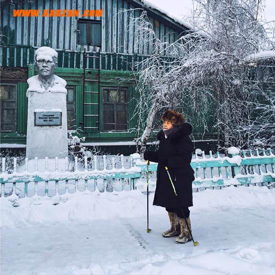 یک شهر یخ زده در شهر نیمه قطبی یاکوتسک روسیه