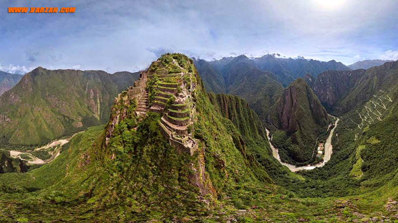 ماچو پیچو (Machu Picchu)، پرو (Airpano/Caters News Agency)