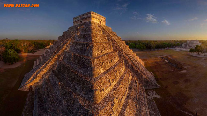 چیچن ایتزا (Chichen Itza)، مکزیک (Airpano/Caters News Agency)